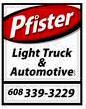 Pfister Light Truck & Auto